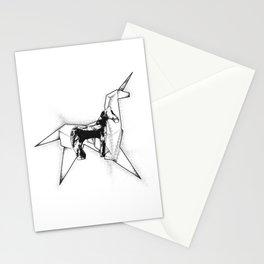 Horse And Unicorn Stationery Cards