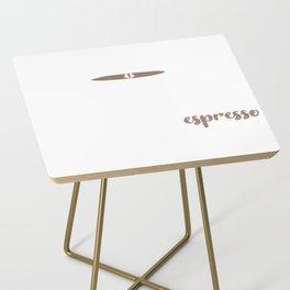 Love   Espresso 0308 Side Table