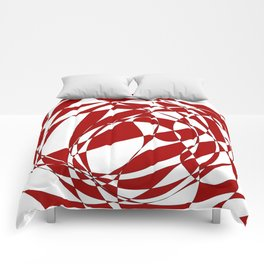 Abstract doodle Comforters
