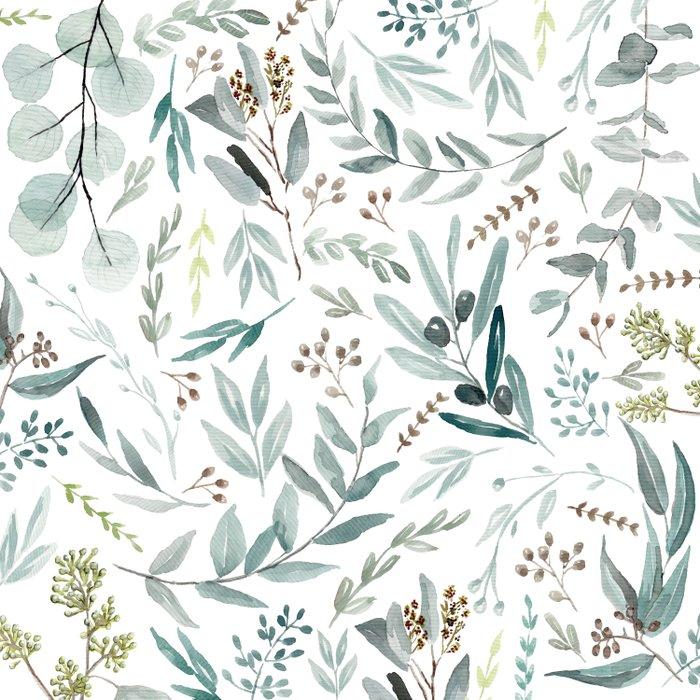 Eucalyptus pattern Duvet Cover
