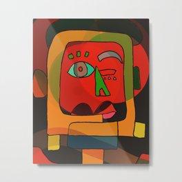Monsieur Neoexpressionism Metal Print