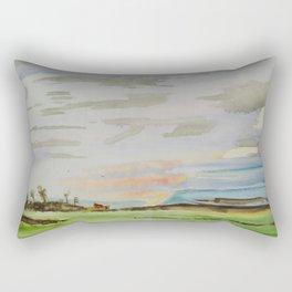 Landscape clouds Rectangular Pillow