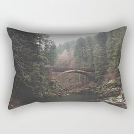 Bridge at Moulton Falls, WA Rectangular Pillow