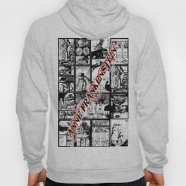 WHITE - A nne Frankenstein Book I - Resurrection Hoody