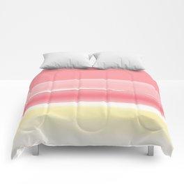 Watercolor summer afternoon Comforters
