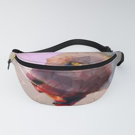 Feast of the Low Poly Lion Pride Fanny Pack