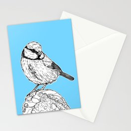 Blue Tit Bird Stationery Cards