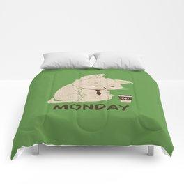 Monday Cat Comforters