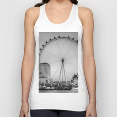 London Eye, London Unisex Tank Top