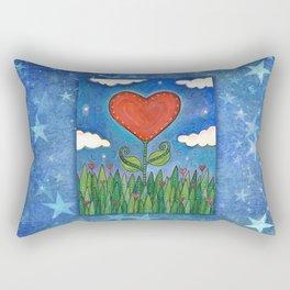 Let Love Grow Rectangular Pillow