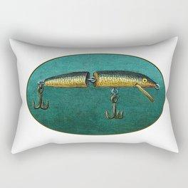 Fishing Lure Rectangular Pillow