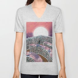 THE LIBRARY I Unisex V-Neck