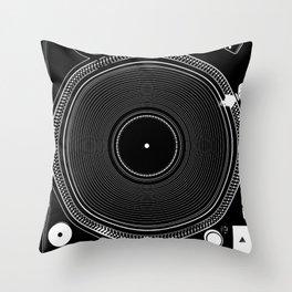DJ TURNTABLE - Technics Throw Pillow