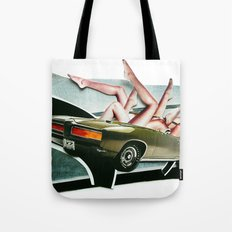Muscle Magnet | Collage Tote Bag
