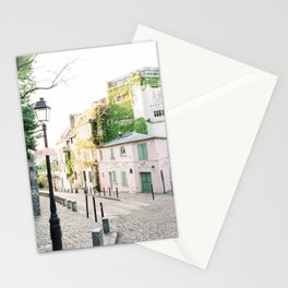 La Maison Rose, Pink Café in Paris, France | The Pink House in Montmartre, Paris, France | Fine Art Travel Photography Stationery Cards