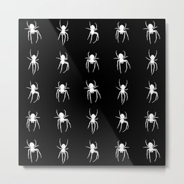 white spiders Metal Print