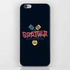 Spatula City! (open edition) iPhone & iPod Skin