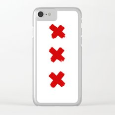 Amsterdam Crosses Clear iPhone Case