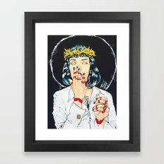 Mother Mia (Mia Wallace) Framed Art Print