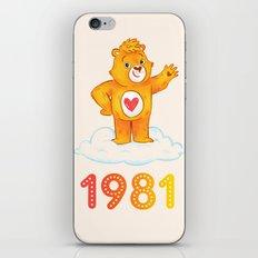 1981 iPhone & iPod Skin