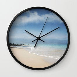 Walking out of Silence Wall Clock