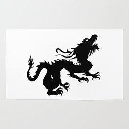 Dragon Silhouette 2 Rug