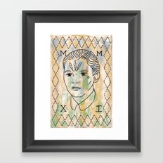 Hans Framed Art Print