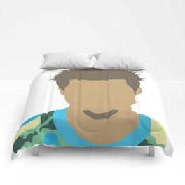 Tyler Durden Fight Club Comforters