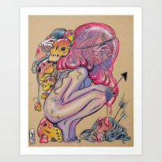 Head Hunter Art Print