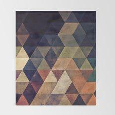 fyssyt pyllyr Throw Blanket