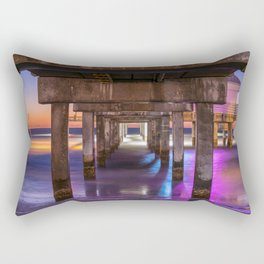 Set the Controls for the Heart of the Pier Rectangular Pillow