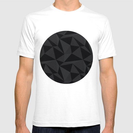 Triangular Black T-shirt