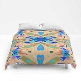 Convention of Cooperation by Sarah Liz Walker - Artist NZ Comforters