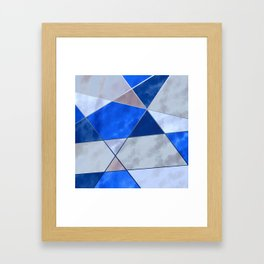 Concrete and Glass Framed Art Print