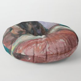 Edvard Munch - Weeping Nude Floor Pillow