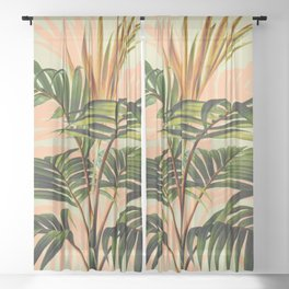 Botanical Collection 01-8 Sheer Curtain