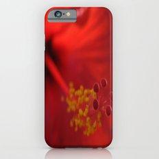 Hibiscus center puff iPhone 6s Slim Case