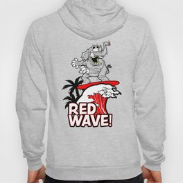 Red Wave Design for Conservative Republican 2018 Voters Hoody