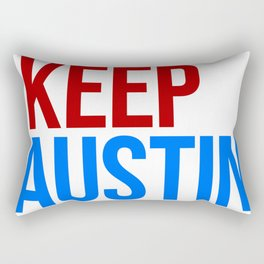 KEEP AUSTIN Rectangular Pillow