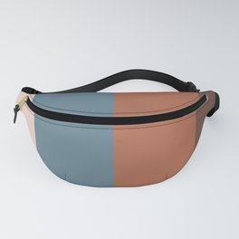 Parable to Behr Blueprint Color of the Year and Accent Colors Vertical Stripes 25 Fanny Pack