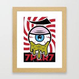 Eye of 7 Framed Art Print