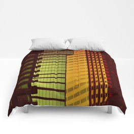 It's all Shapes and Colors - Downtown Los Angeles #68 Comforters