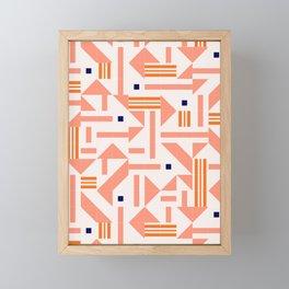 Random Tiles #society6 #pattern Framed Mini Art Print
