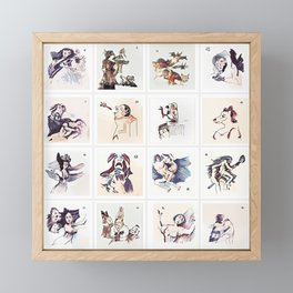 Collection 16 ~ Los Caprichos Framed Mini Art Print