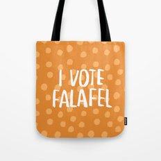 I Vote Falafel Tote Bag