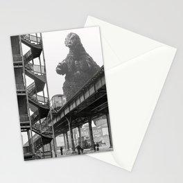 1941 Godzilla Chicago Elevated Train Visit Stationery Cards