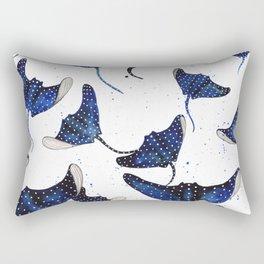 Manta Ray Rectangular Pillow