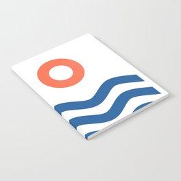 Nautical 02 Seascape Notebook