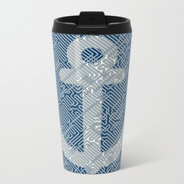 Knot & Anchor Metal Travel Mug