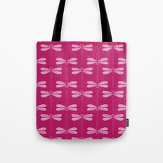 dragonfly in vivacious Tote Bag